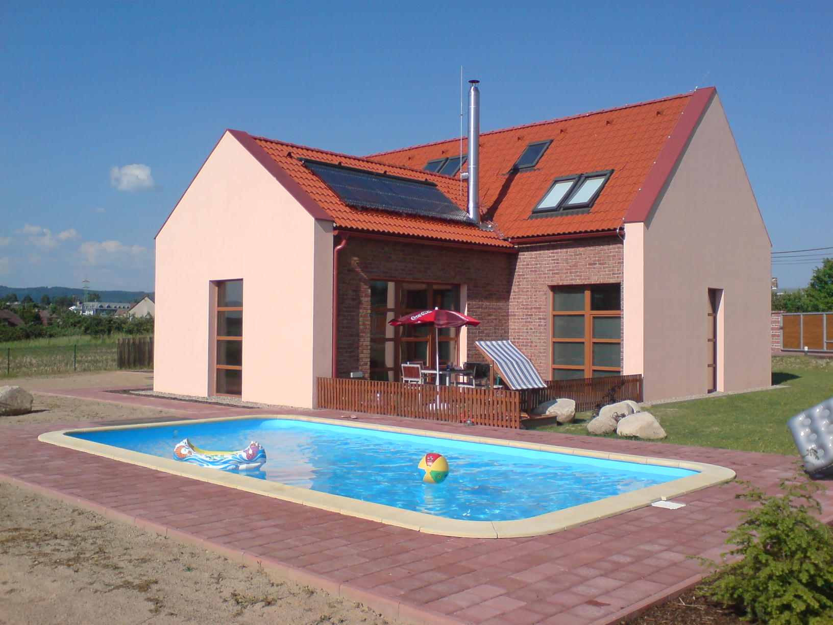 Pools and other plastic products