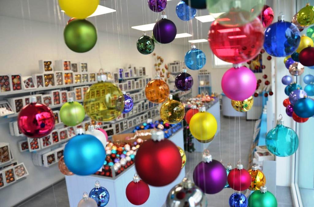 Ruční výroba vánočních ozdob