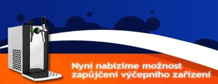 Zapůjčení výčepního chladícího zařízení, rozvoz piva Zlín, Kroměříž, Přerov