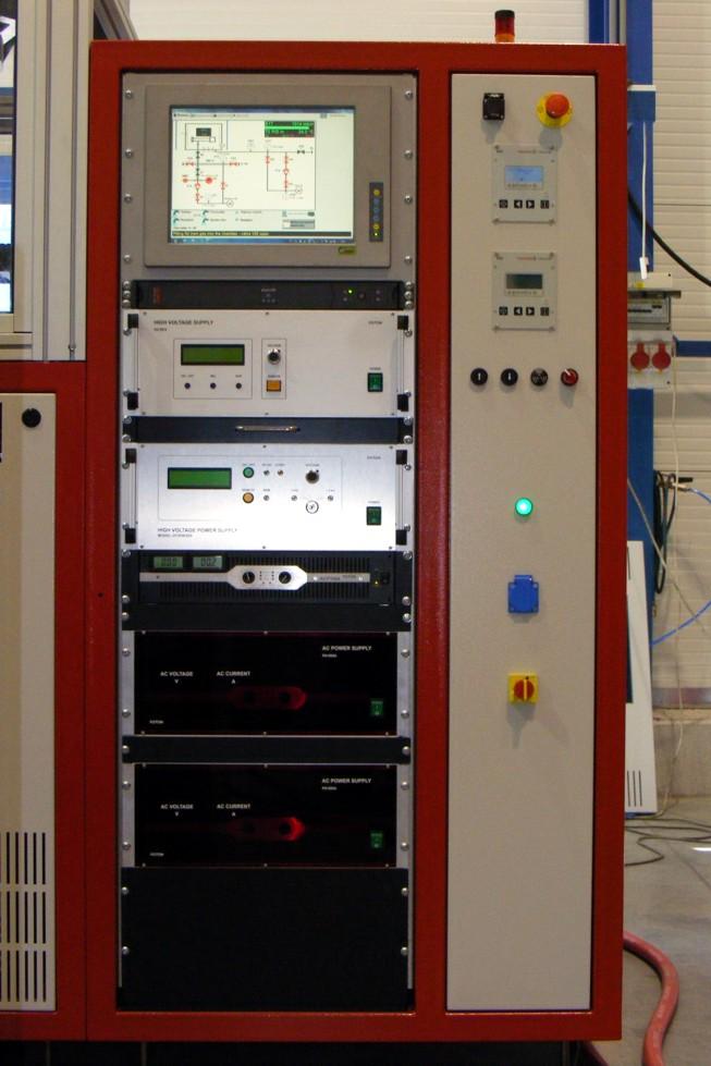 Průmyslová automatizace - jednoúčelové stroje - vakuová technika - technologické rozvaděče