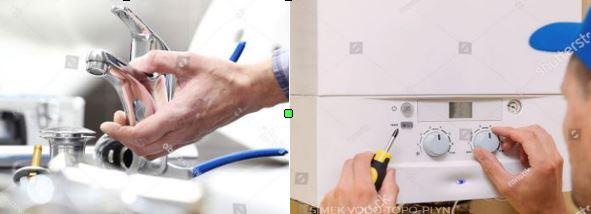 Instalatérské práce, topenářské práce a vodoinstalatérské práce