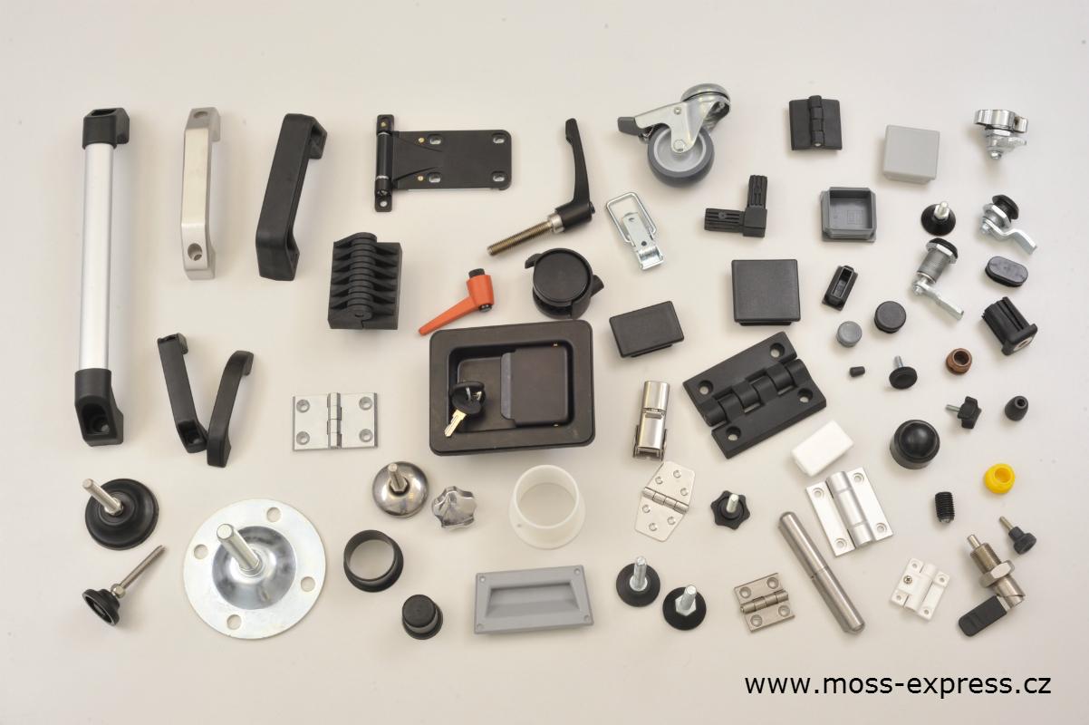 Součásti pro stroje a výrobní zařízení