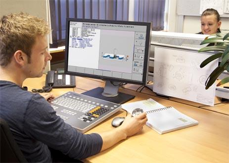 Programovací stanice pro řízení HEIDENHAIN
