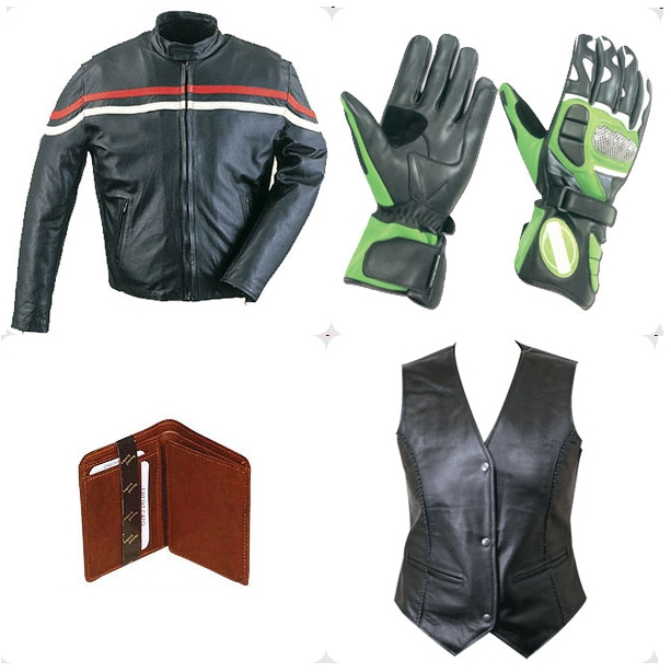 PAKISTAN; Leather clothing and accessories