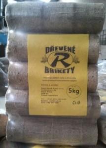Prodej dřevěné brikety | Semily, Lomnice nad Popelkou, Hořice, Vrchlabí
