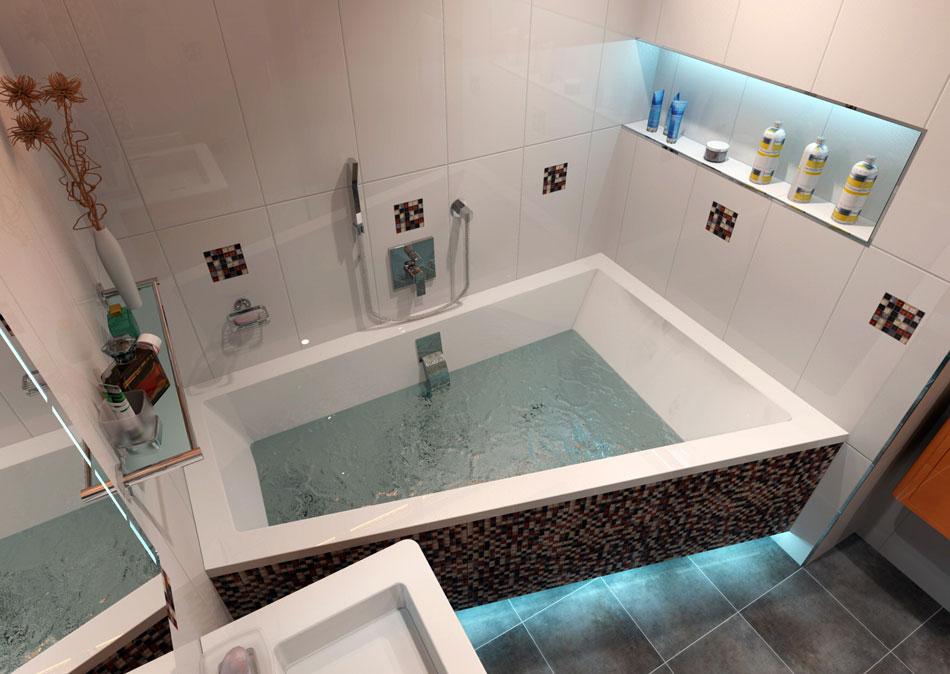 Levná rekonstrukce koupelny v paneláku