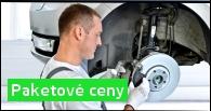 Servis vozidel Škoda - paketové ceny oprav