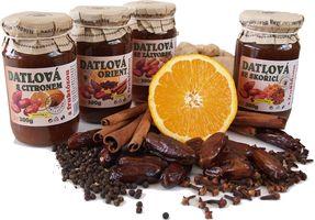 ovocné pomazánky a džemy
