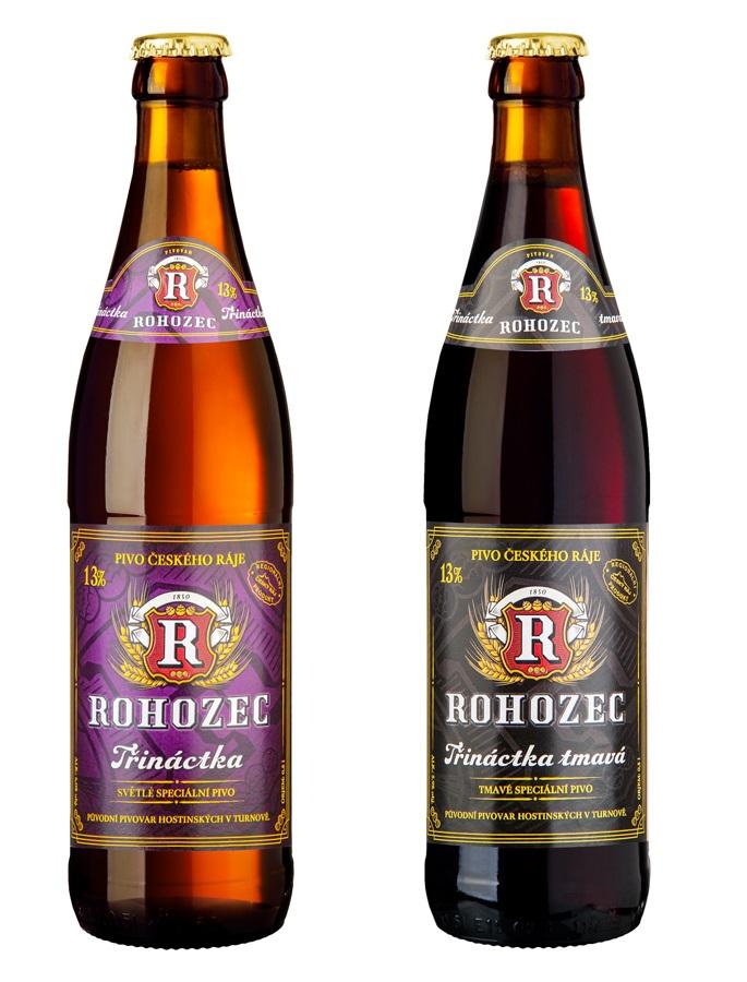 Rohozecké pivní speciály a ochucená piva