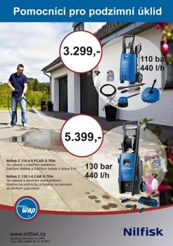 Prodej čistící zařízení, vysavače, mycí systémy aut, wapky Ostrava