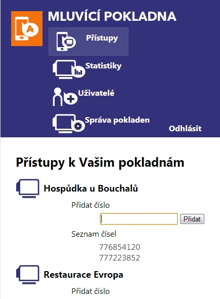 Novinka - Mobilní mluvící pokladny prodej Praha