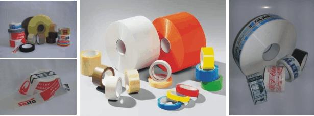 Vytyčovací, ohraničující, technické, maskingové, balící pásky