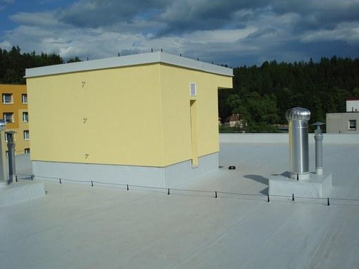Hydroizolace střechy Trutnov – Popas CZ Trutnov