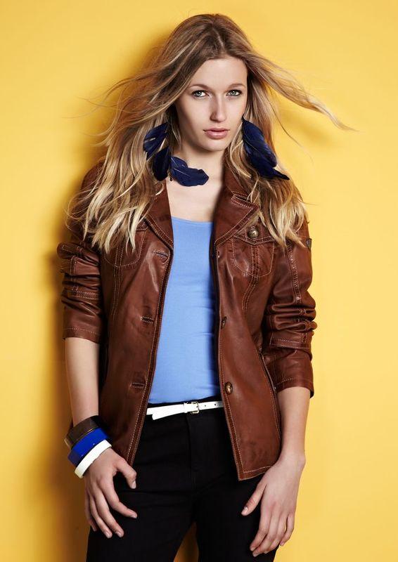 Kožená bunda, kožené bundy