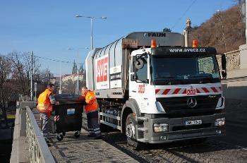 Provozování sběrných dvorů - sběrných míst odpadu v Praze a na celém území České republiky