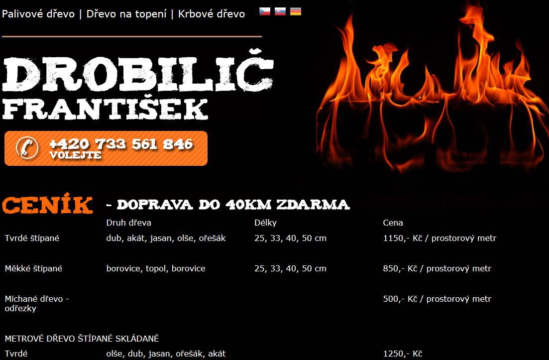 Prodej dřeva na topení, Mikulov, Břeclav