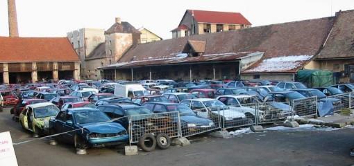 Autovrakoviště Jičín