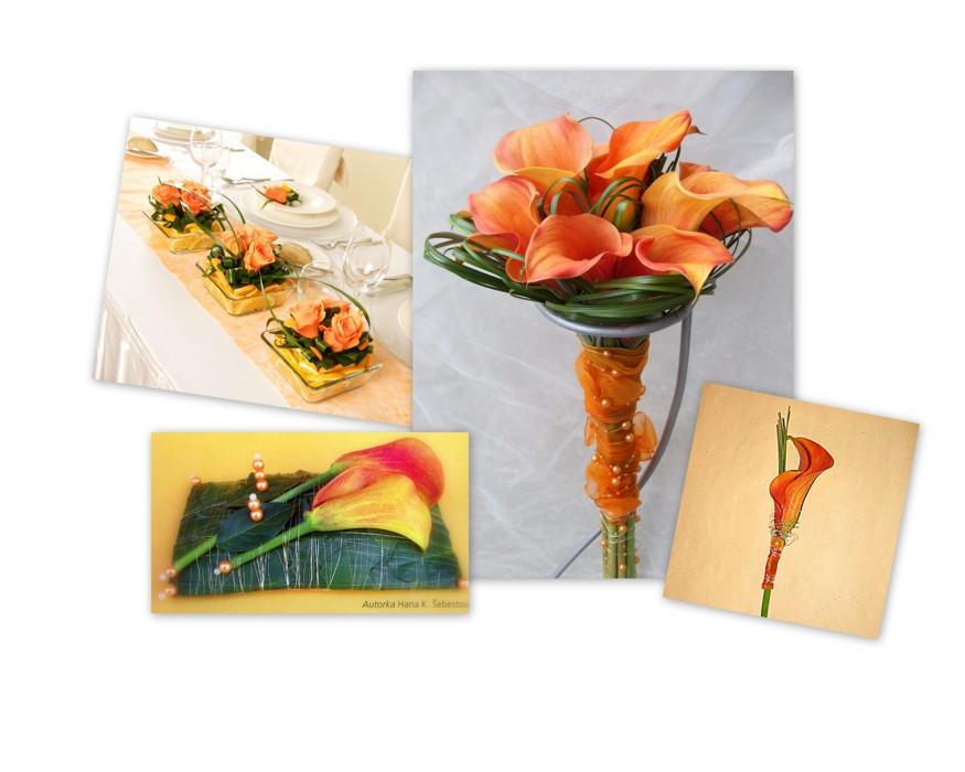 Svatební kytice, květinové, svatební vazby, Holešov, Fryšták, Zlínský kraj