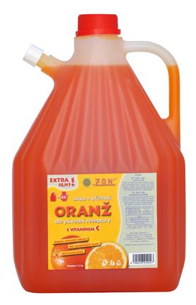 Limonády, sirupy ZON