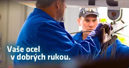 Vaše ocel bude díky našemu žárovému zinkování v bezpečí