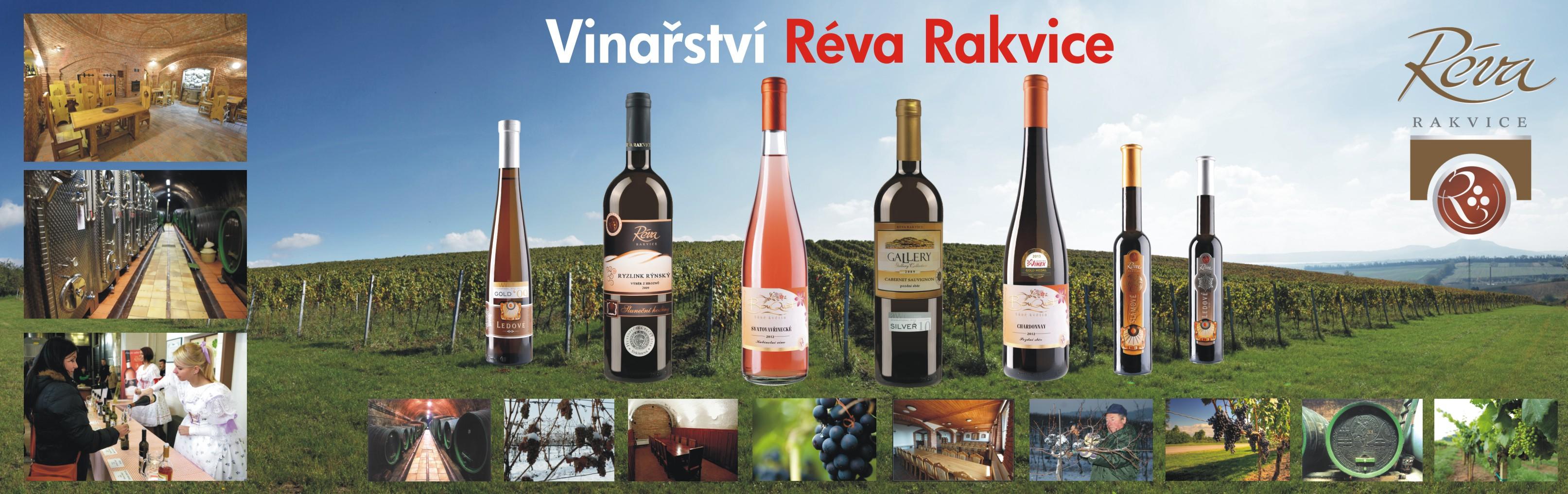 Vína z vinařství Réva Rakvice