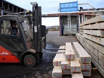 dřevěné brikety Bělotín