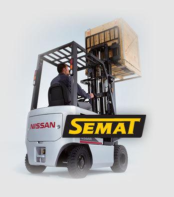 SEMAT HB - servis VZV, manipulační technika Pelhřimov