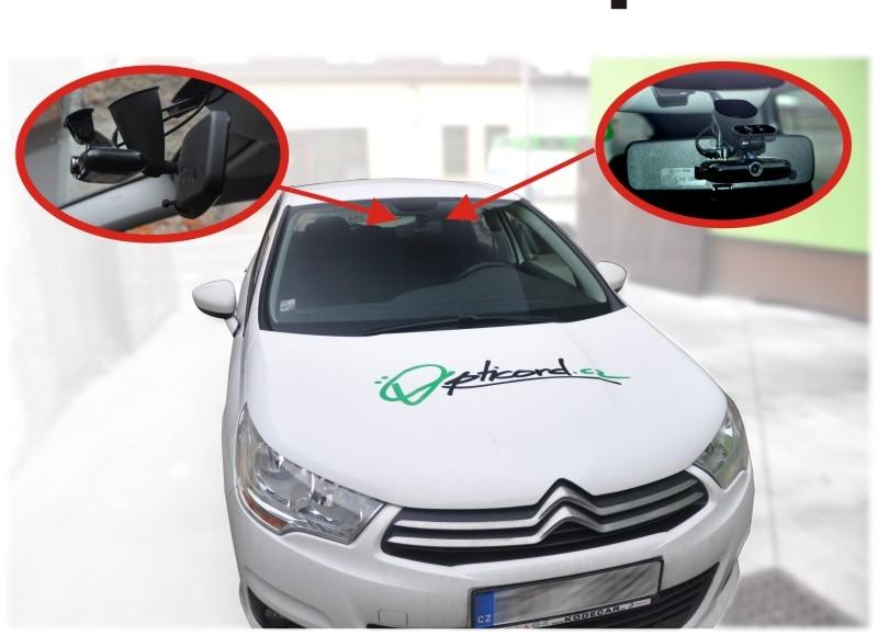 Multifunkční autokamera
