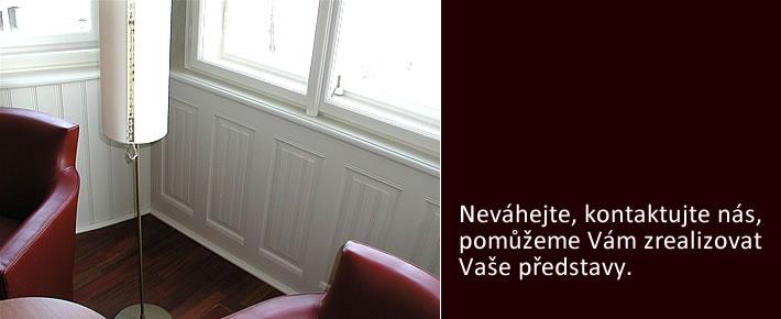 Výroba a oprava oken, dveří a schodišť historických budov Praha a okolí
