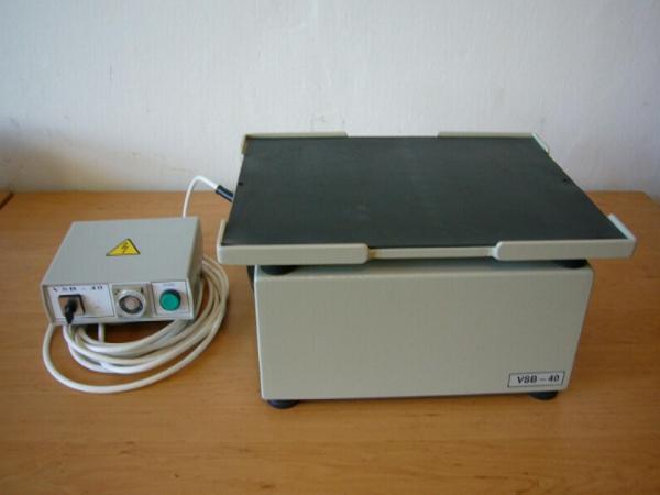 výroba zkušebních zařízení pro zkoušky kameniva