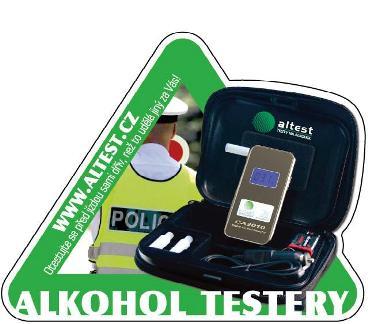 tester k měření alkoholu