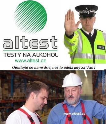 prodej testerů na alkohol Brno