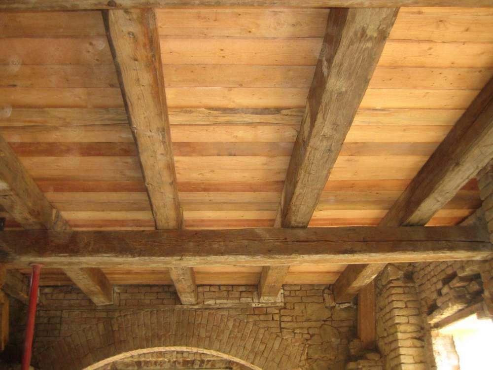 rekonstrukce historického stropu