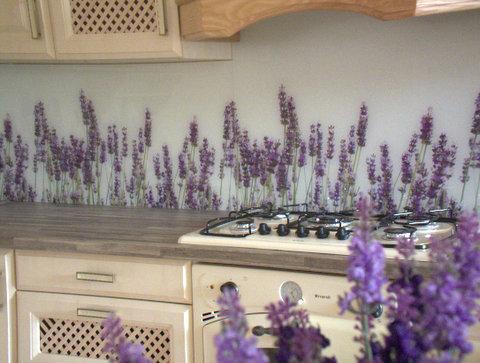 Obkladová skla s grafikou do kuchyně Obkladová skla s potiskem Tisk fotografií na skleněný obklad skla Dekorovaná