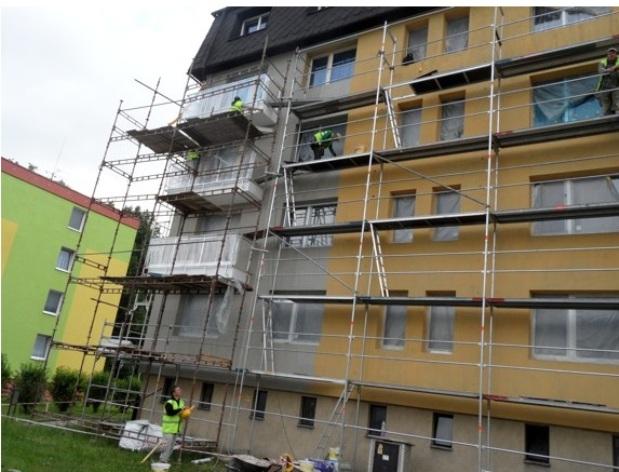 zateplování domů a stavební úpravy na klíč Uničov