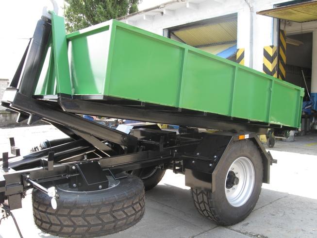 Prodej, dodávka, servis traktorové přívěsy, nosiče kontejnerů, TNK Ostrava, Karviná, Havířov