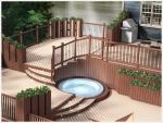 Realizace, návrh, montáž WPC  terasy, schodů, plotů Olomouc, Zlínský kraj