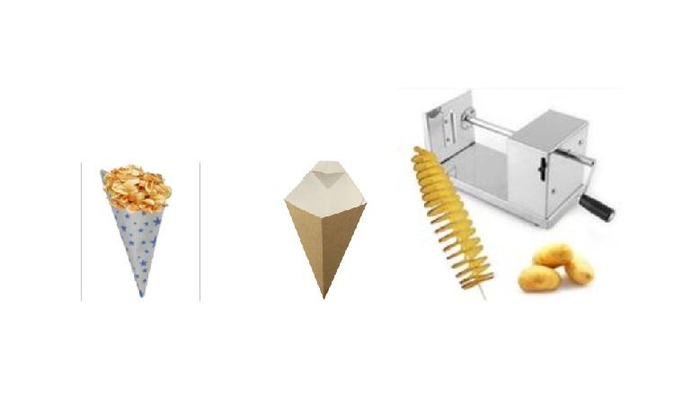 stroje na spirálky z brambor