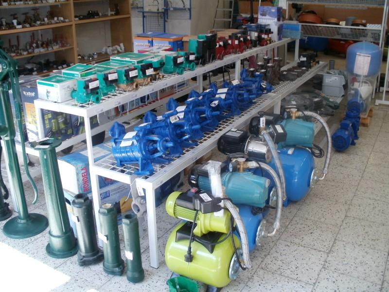 Instalační, topenářský materiál, vodo topo plyn Jeseník