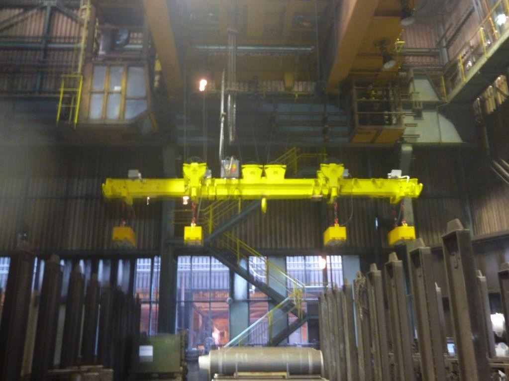 Lifting electromagnets and electro-permanent magnets for professional handling of materials, the Czech Republic