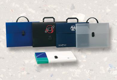 Potisk plastových obalů, kancelářských a reklamních předmětů