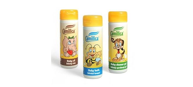 Dětská kosmetika Camillca, Mariol, šampon, gel, mýdlo, olej
