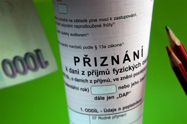 Zpracování, odklad daňového přiznání fyzických, právnických osob Hranice, Olomouc, Přerov