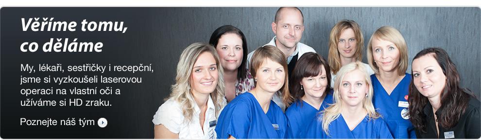 Laserové operace očí Brno