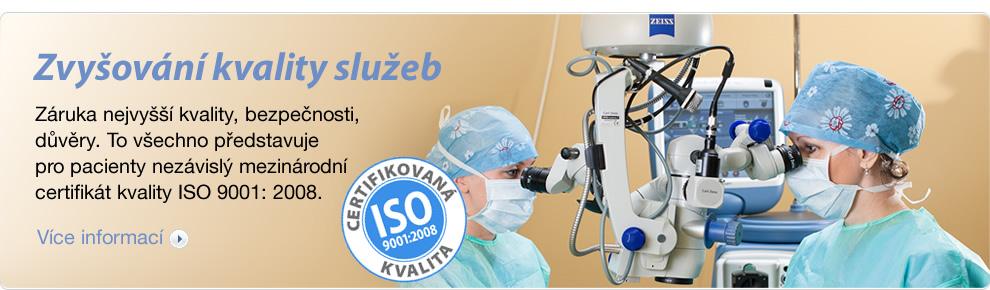 Bezbolestná operace očí, odstranění očních vad Brno