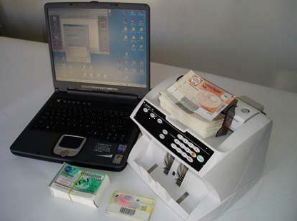 počítání bankovek Camo GMS-1000