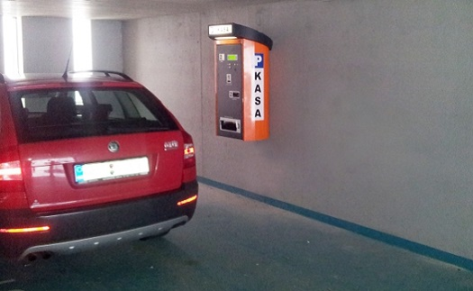 systémy pro parkování