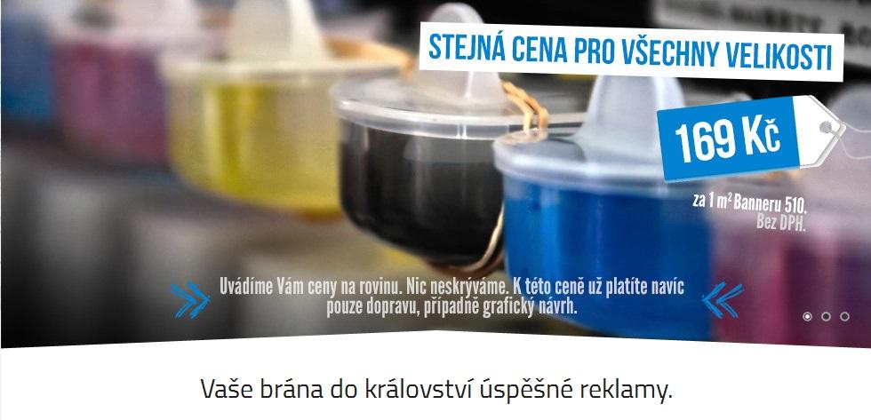 Tisk reklamních bannerů včetně designu, Moravskoslezský kraj