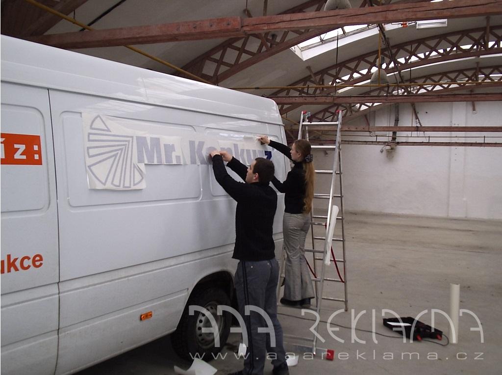 Výroba reklamy - velkoformátový tisk i polepy aut, Praha