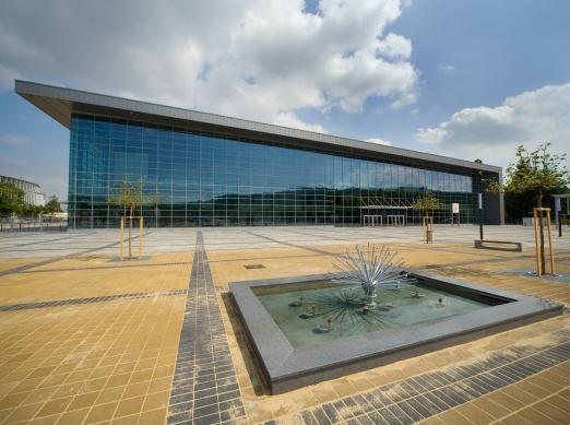 Výstavba hal Brno